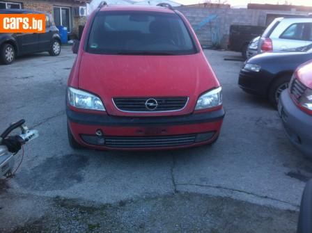 Opel Zafira 18i 16V photo