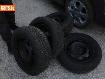 4 броя гуми и джанти за пежо 207 307 406 photo
