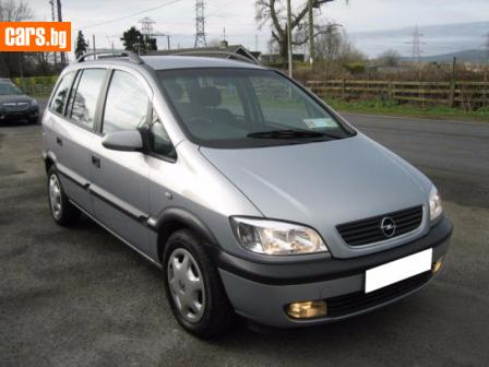 Opel Zafira 1.8 16V photo