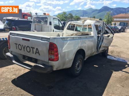 Toyota Hilux 4х2 2.5d 120ps photo