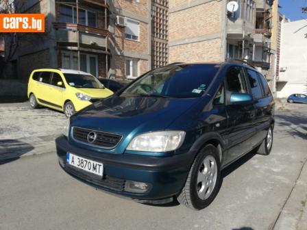 Opel Zafira A 2.2 16V147к photo