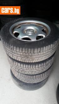 4 броя гуми Континентал с оргинални джанти  комплект. Стават нза Мерцедеси Ц и Е и Вито. Също и за Фолксваген Ауди Сеат Шкода photo